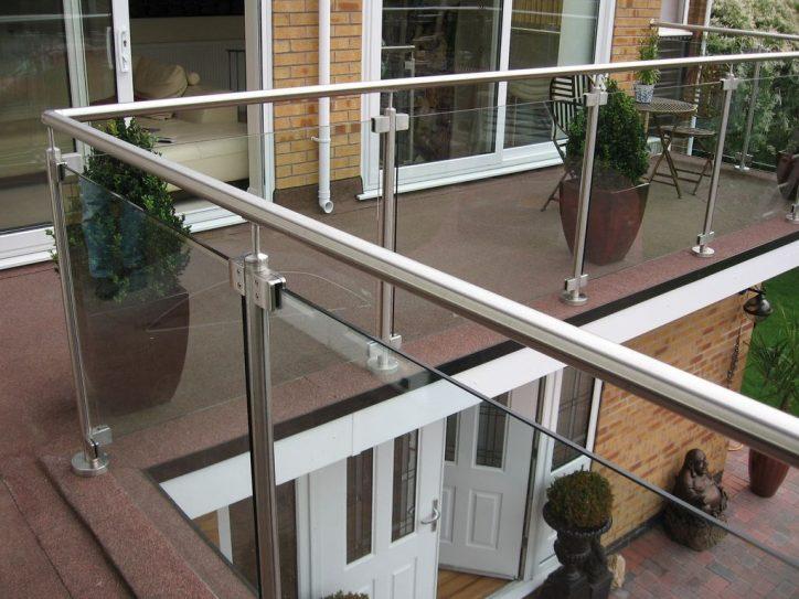Balustrady na balkon
