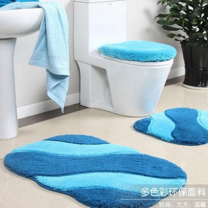 Dywaniki łazienkowe 3 częściowe
