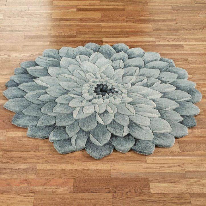 Dywaniki łazienkowe okrągłe
