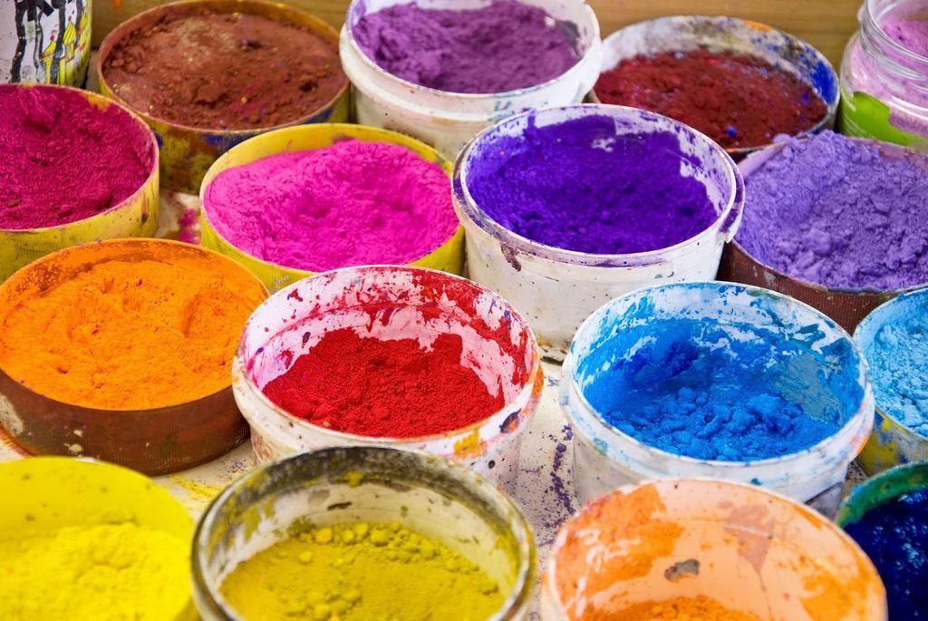 Pigmenty do farb