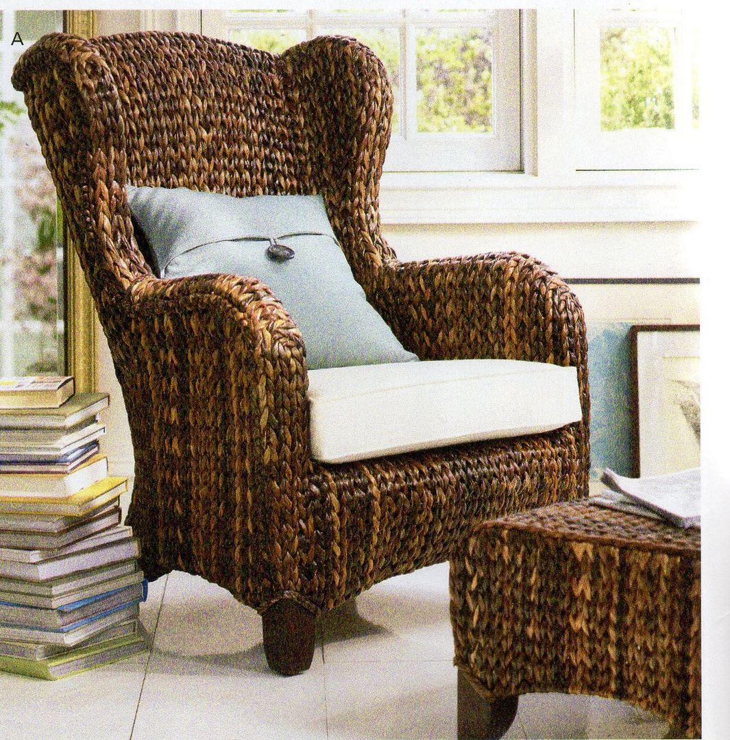 Fotel wiklinowy