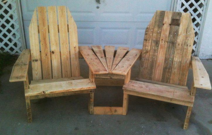 Fotele z palet