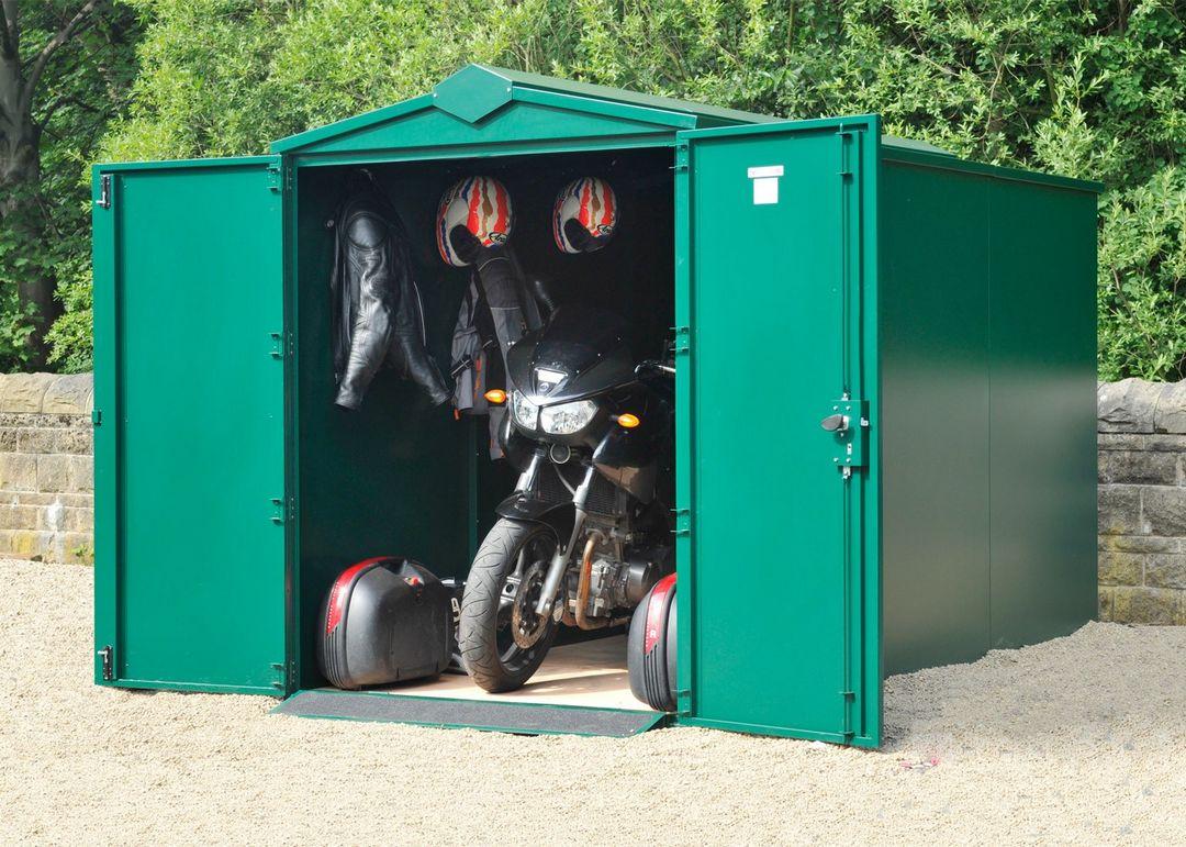 Garaż na motocykl