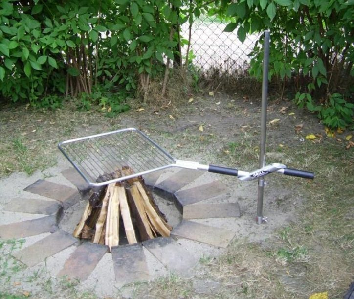 Grill ogniskowy