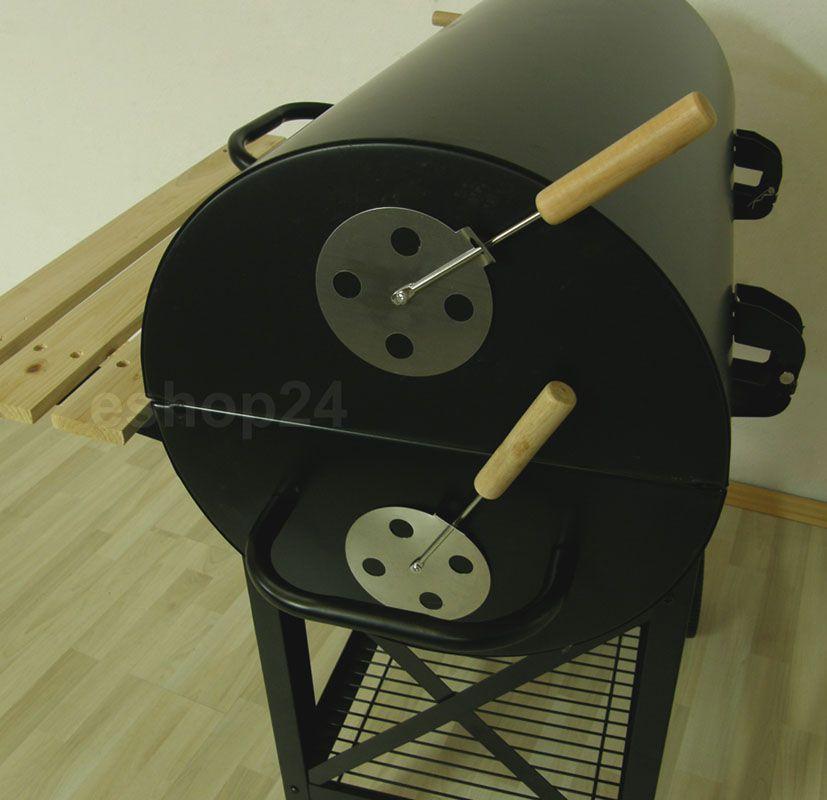 Grill z beczki