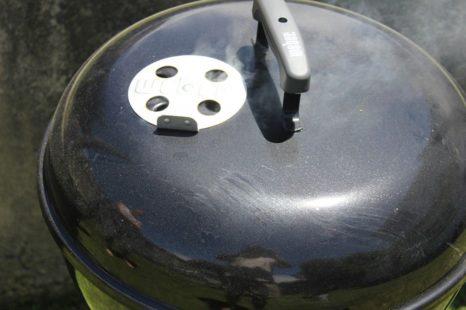 Grill z pokrywką