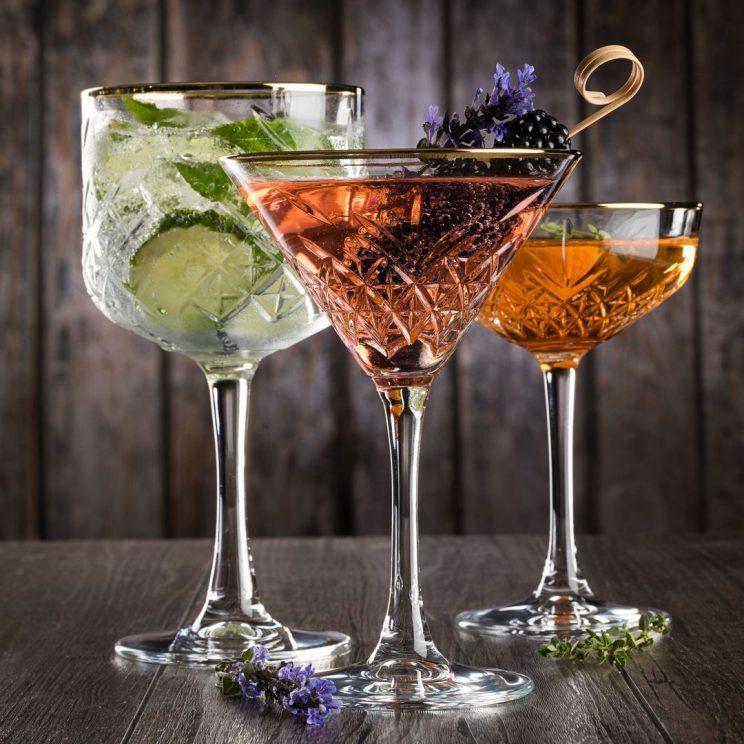 kieliszki do martini