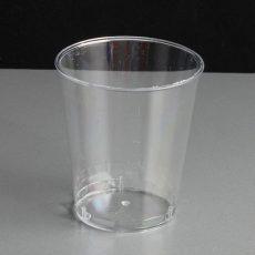 Plastikowe kieliszki