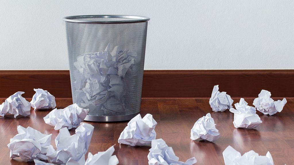 Kosz na śmieci biurowy