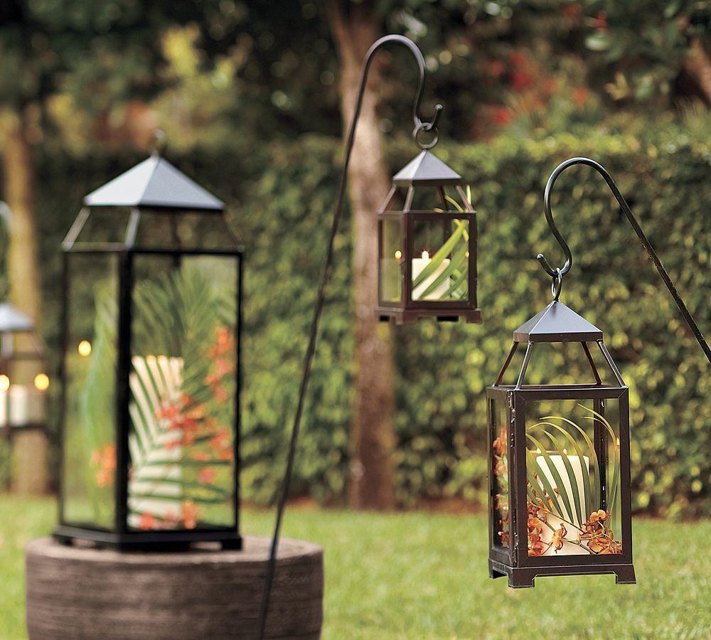 Lampy ogrodowe na świece