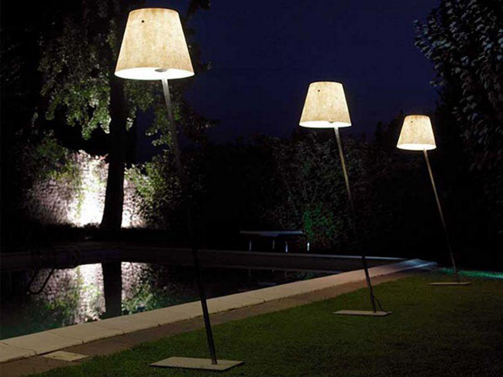 Lampy ogrodowe stojące