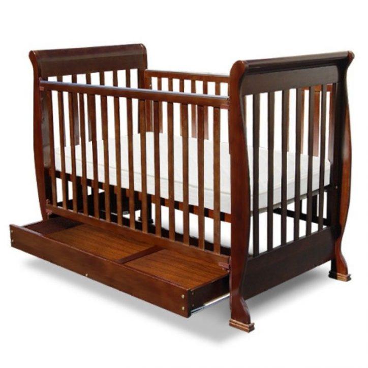 łóżeczka drewaniane