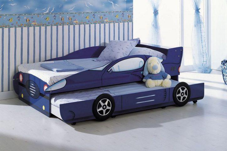 Łóżka samochody