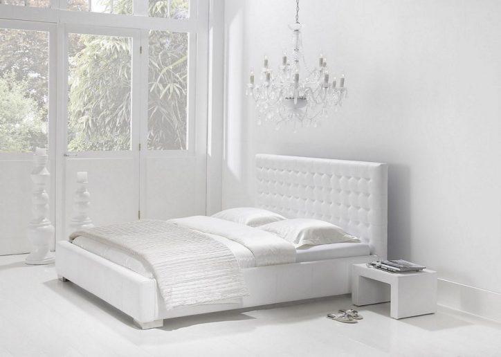 Białe łóżko Do Sypialni łóżko Białe Ceny I Opinie 2019