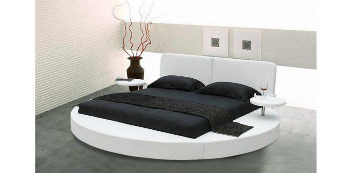 Okrągłe łóżko