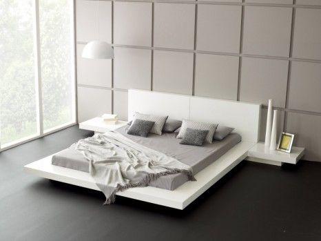 Nowoczesne łóżko