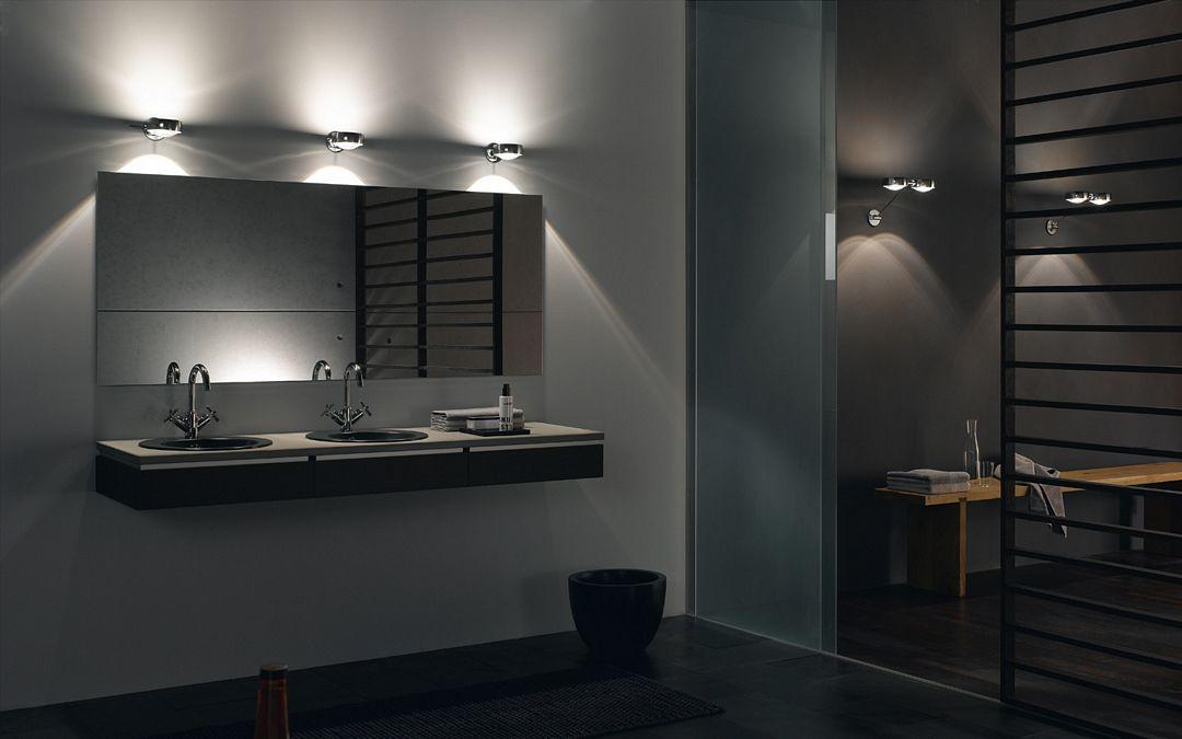 Best Pendant Lighting Ideas For The Modern Bathroom: Lustro Z Oświetleniem łazienkowe