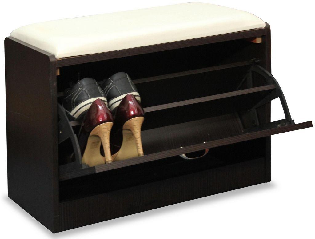 Szafka na buty z siedziskiem