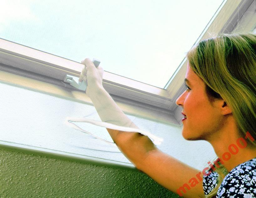 Moskitiera na okno dachowe