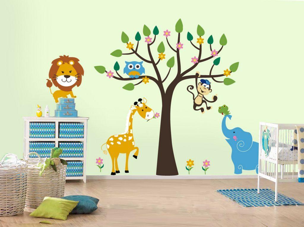 Naklejka na ścianę dla dzieci