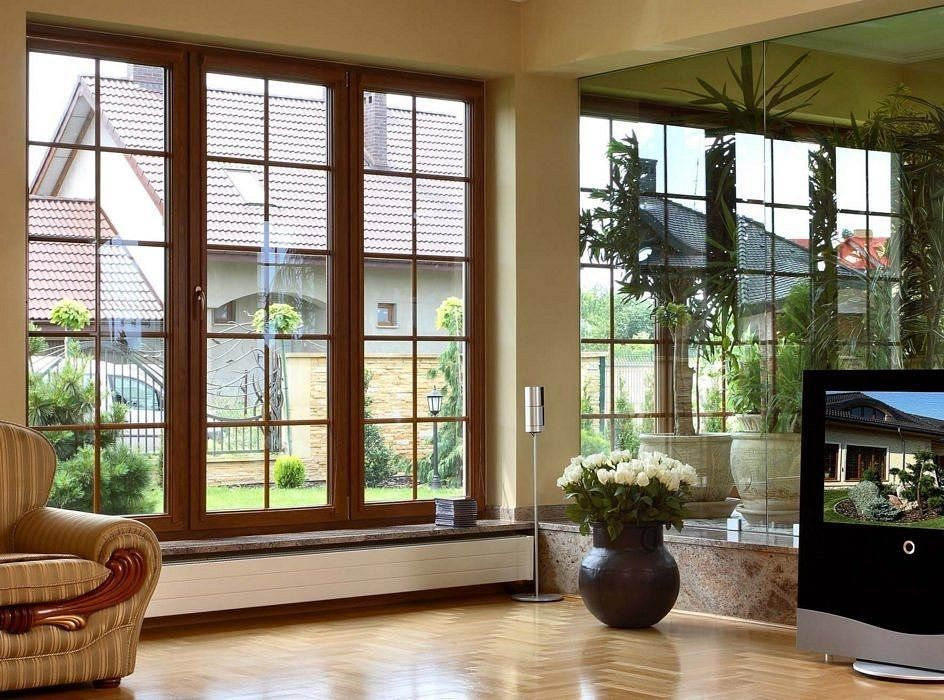 Okna ze szprosami