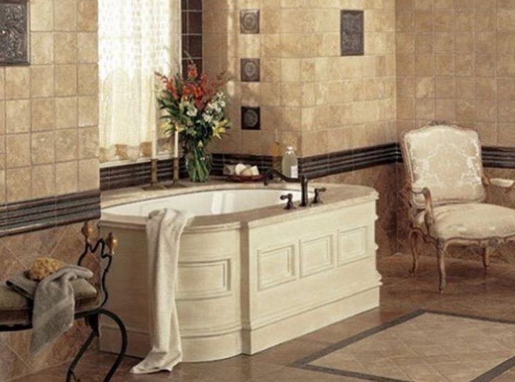 Aranżacje płytek łazienkowych