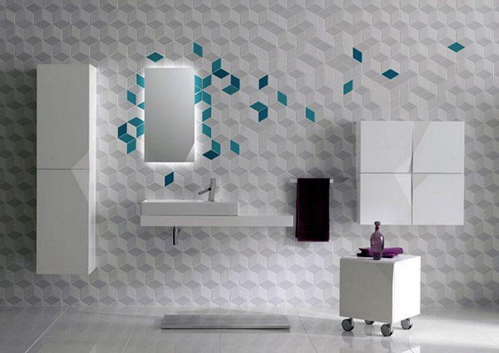 Wzór płytek łazienkowych