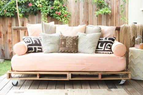 Sofa z palet
