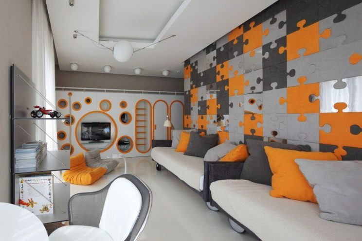 kosmiczny pokoj dla dzieci