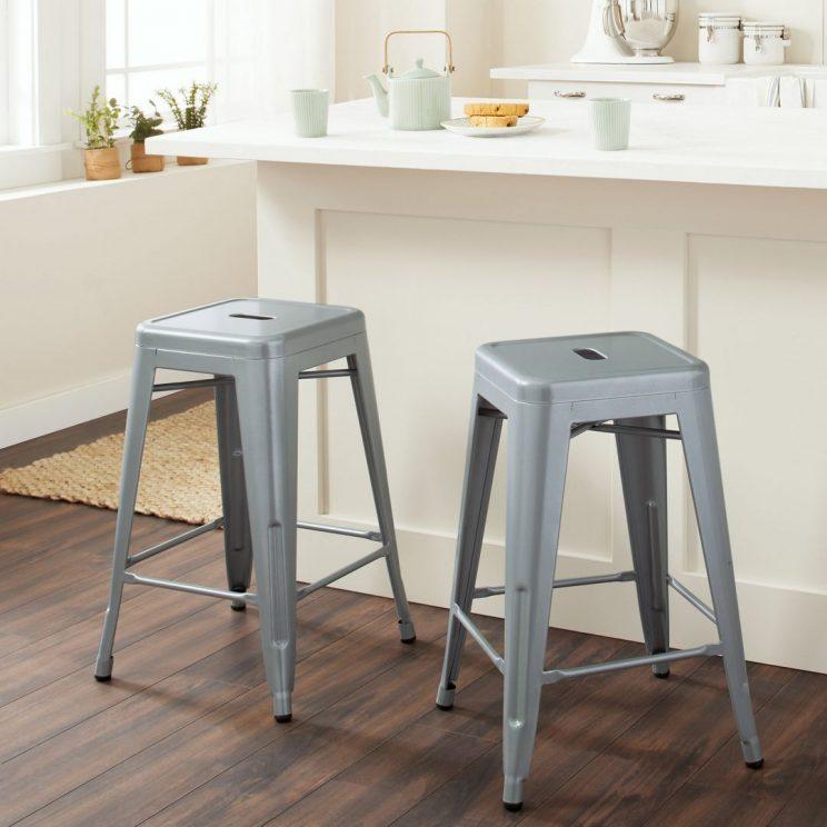 stolek metalowy