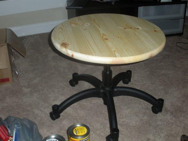 stolek obrotowy