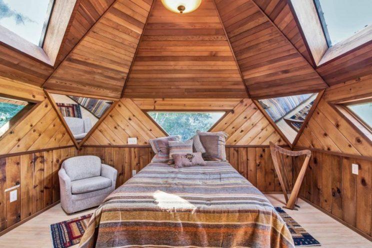 Sypialnia w kopule