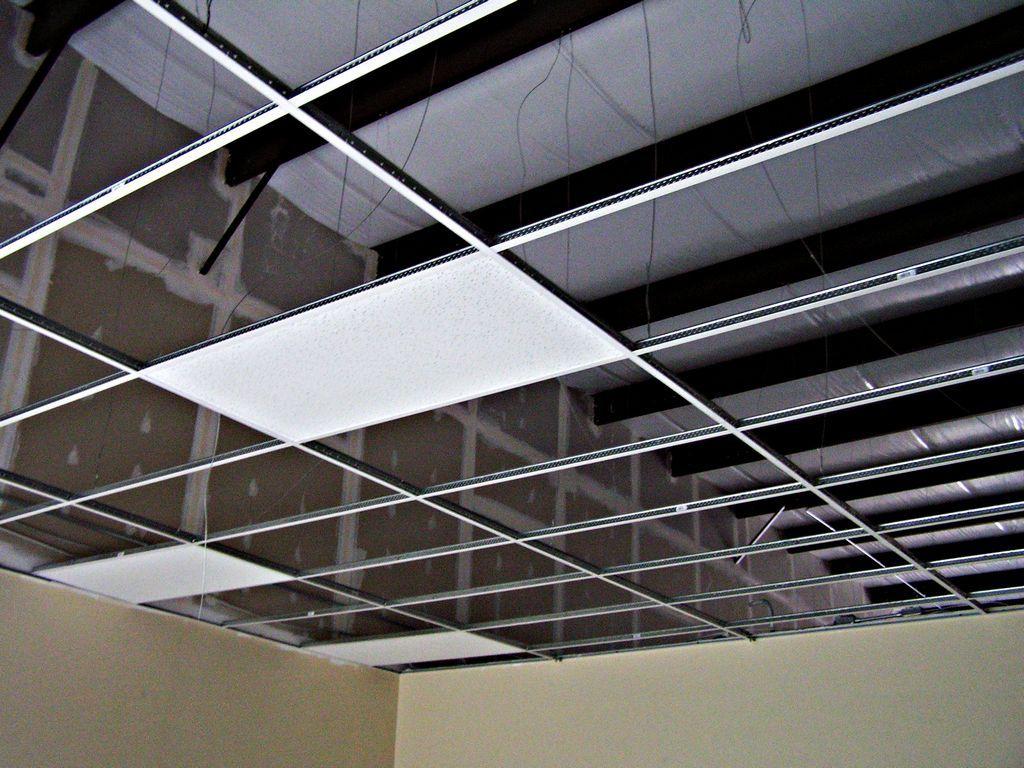Sufit podwieszany konstrukcja