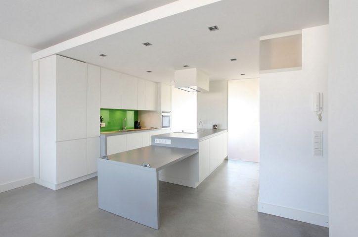 Sufity podwieszane w kuchni