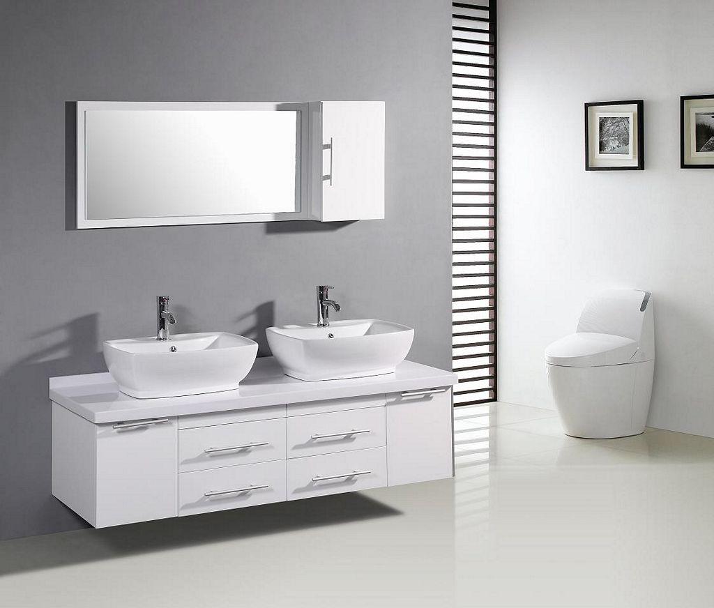 Szafki łazienkowe wiszące