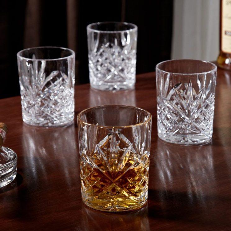 szklanki krysztalowe