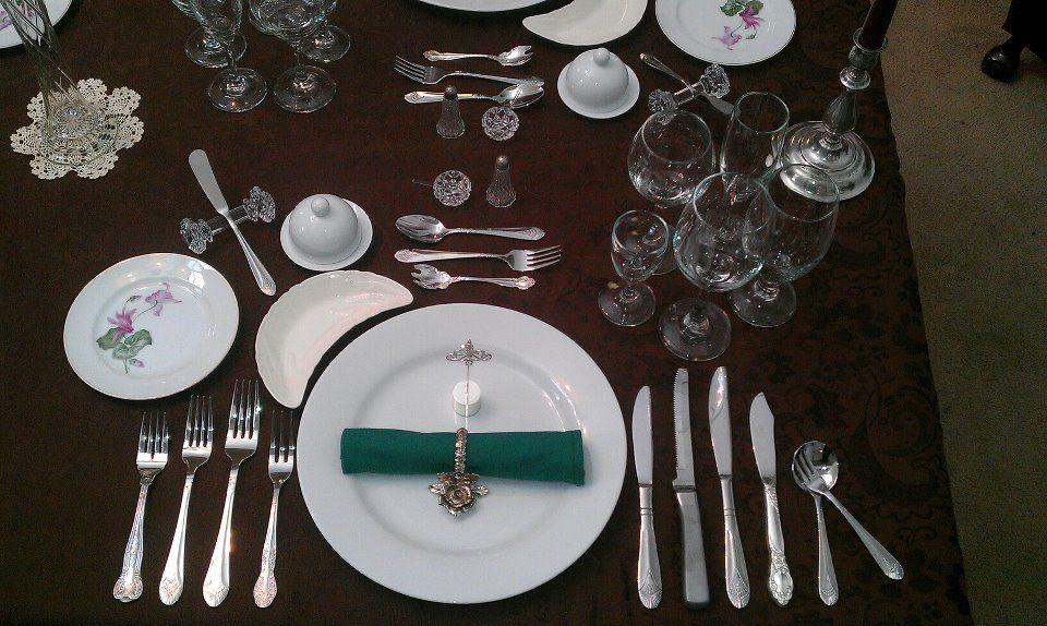Sztućce na stole