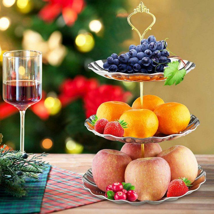 talerze na owoce