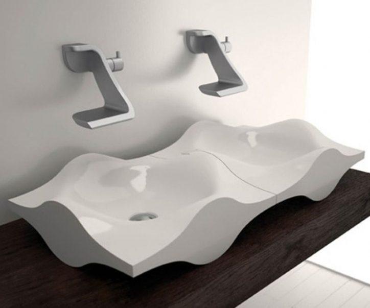 Nowoczesna umywalka