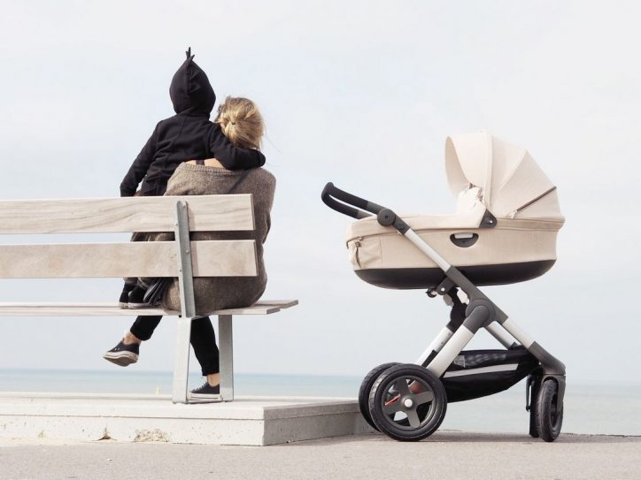 Głęboki wózek dla dzieci