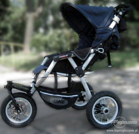 Wózek trójkołowy