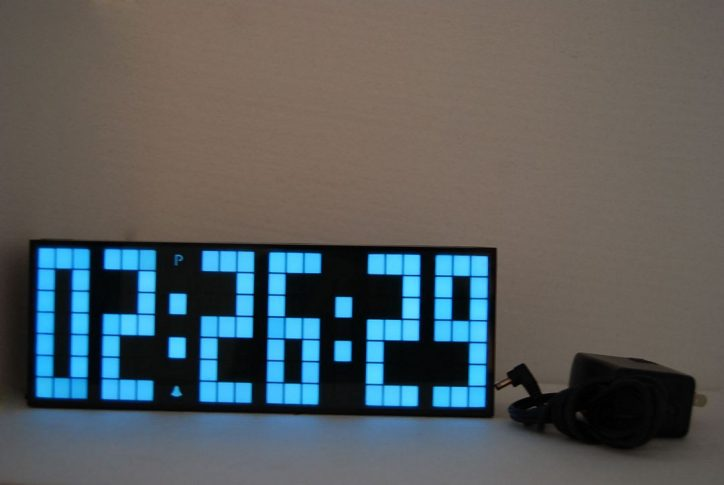 Zegar ledowy